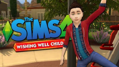 WISHING WELL CHILD - The Sims 4 Funny Highlights #73