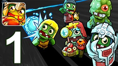 Zombie Rollerz: Pinball Heroes - Gameplay Walkthrough Part 1  - Tutorial ( iOS )