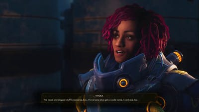 the Outer Worlds - Code Names (companions' reaction, extended)