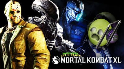 Grape NUNCHUCKS! (Mortal Kombat XL)