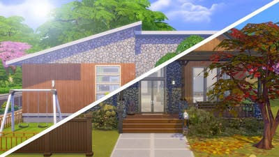 RENOVATING THE OFFICIAL SEASONS HOUSE // The Sims 4: Fixer Upper