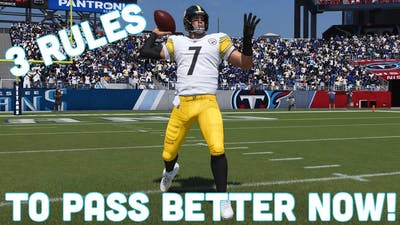 3 Rules That Will Immediately Improve Your Passing Game In Madden 21!