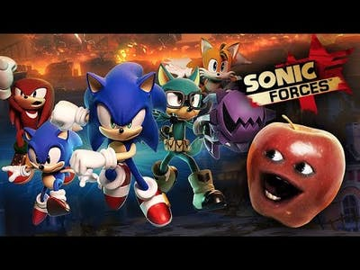 Little Apple plays SONIC FORCES!!