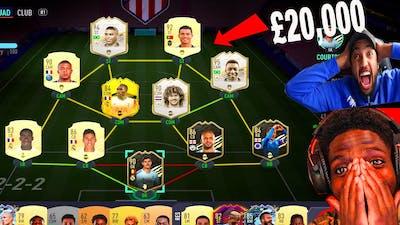 SV2 DELETES MY $20,000 ULTIMATE TEAM - FIFA 21 ULTIMATE TEAM