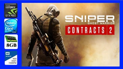 Sniper Ghost Warrior Contracts 2 (2021) Gameplay Frame Rate Test GTX 950 2Gb 8Gb Ram i5 3350P
