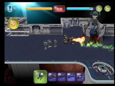 Alien Hallway Mission 2 Level 1