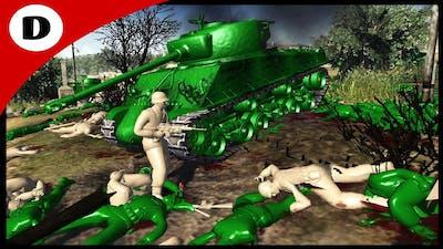 BLOODY GREEN HILL DEFENSE - Army Men: Civil War 2