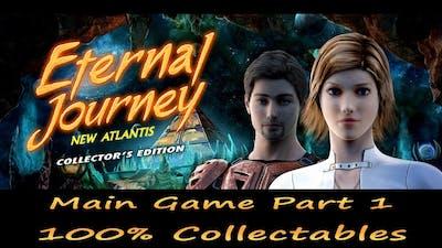 Eternal Journey: New Atlantis Main Game Part 1 Walkthrough (1/11), 100% Collectables