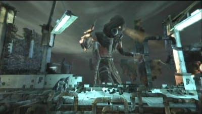 Batman Arkham Asylum - Batman vs Scarecrow's Gaze