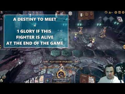 Warhammer Underworlds Online - Aggro/Flex Steelhearts vs Skaven (Glory Combo's for the win)