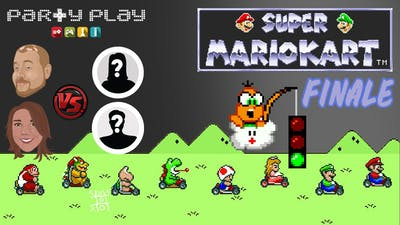 Super Mario Kart: Flock of Nerds Challenge - Finale - Party Play Gaming