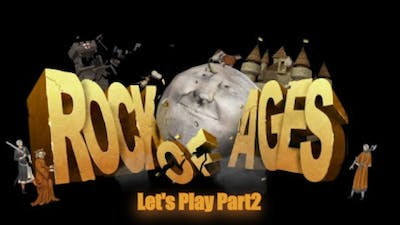 Let's Play Rock of Ages (Multiplayer) - part2 - UltraHD