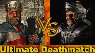 Richard vs Wolf - Ultimate Deathmatch   Stronghold Crusader AI-Battle