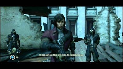 Dishonored - Knife of Dunwall DLC: Low Chaos Ending (Billie Lurk Dead + Alive Scene)