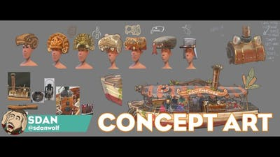 Old Adventure Pack Concept Art!   Planet Coaster