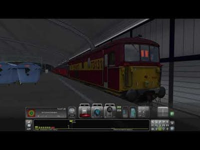 TS2021 73131 1O90 Willesden PRDC to Dover (as far as Clapham Junction)