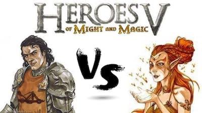 Heroes of Might and Magic V: Vittorio vs Dirael