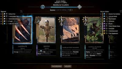 Emhyr Control Game 2 vs Swarm Monsters (no audio)