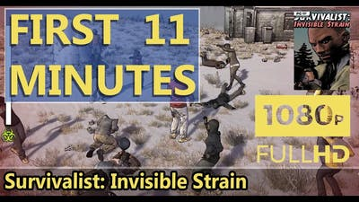 FIRST LOOK | Survivalist: Invisible Strain | HD GAMEPLAY