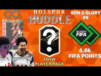 4600 FIFA POINTS, TOTW PACK AND ENDLESS TWO RARE GOLD PLAYER PACKS | Son 2 Glory #5