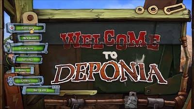 Downward! Missed Elysium! - Deponia 2 w/setheasy (G is for Gaming)