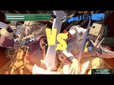 Guilty Gear Xrd REV 2: Games With not typing that on youtube
