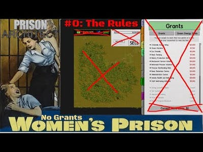 I Make A Prison Without Grants in  And This Happens   Prison Architect: Grantless Gals Episode 0
