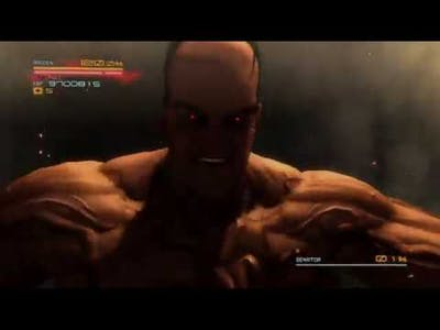 Metal Gear Rising: Revengeance - What happens if you beat Armstrong before the actual fight?
