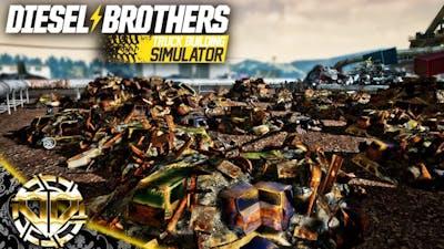 FIELD OF SCRAP : The Bearded Seven Repair : Diesel Brothers Truck Building Simulator