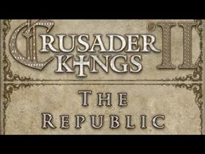 Crusader Kings 2 - The Republic Part 1 Announcements and Italians