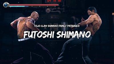 Yakuza Kiwami 2 : Shintaro Kazama VS Futoshi Shimano (Dragon VS Tiger)