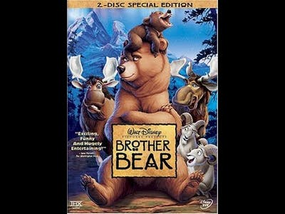 Opening To Brother Bear 2004 DVD