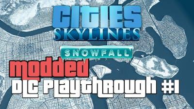 Cities Skylines Snowfall DLC Modded 1