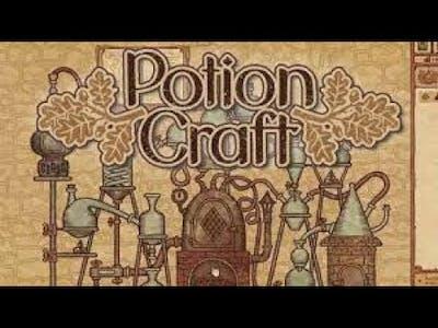 Potion Craft: Alchemist Simulator | (PC) First Look Gameplay!