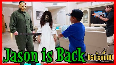 JASON IS BACK   CREEPY GIRL from EXORCIST   D&D SQUAD