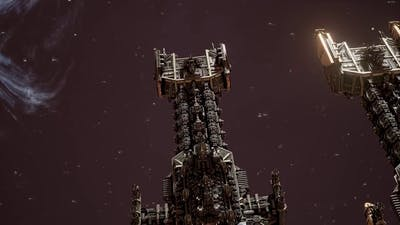 Battlefleet Gothic Armada - Space Marines vs Ork Pirates Skirmish gameplay