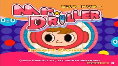 Mr. Driller 1999 Namco Mame Retro Arcade Games