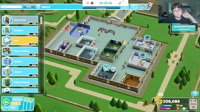 ME PLAYING TWO POINT HOSPITAL AND HOW IT CAME OUT.