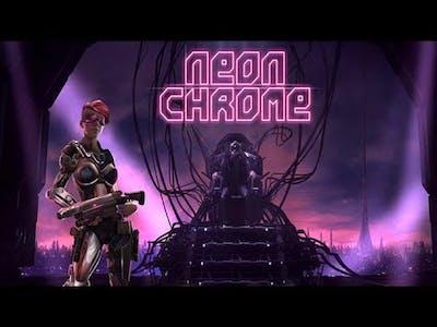 neon chrome (PC) Gameplay 2019
