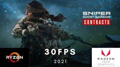 Sniper Ghost Warrior Contracts Ryzen 3 2200G 8GB Vega 8