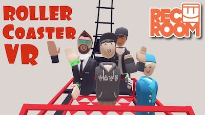 Rec Room Roller coaster in VR - This Side Up
