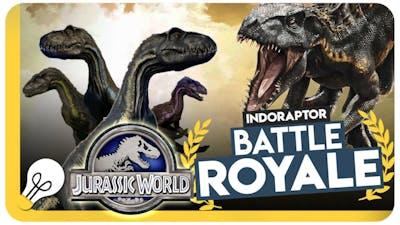 Indoraptor Battle Royale  - Jurassic World Evolution Gameplay