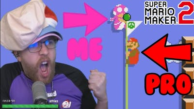 DESTROYING PROS in Multiplayer Versus | Super Mario Maker 2 Beuca Twitch Highlights