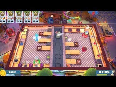 Overcooked 2 carnival of chaos Kevin1_3 players_4 stars