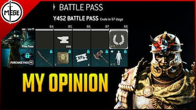 My Opinion of the Second Battlepass [For Honor]