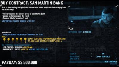 [Payday 2] San Martin Bank OS OD