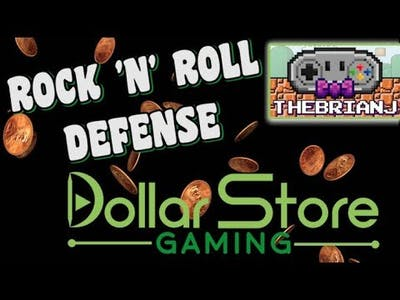 Rock 'n' Roll Defense - Dollar Store Gaming