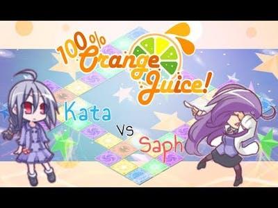 100% Orange Juice ¦ School Crashers! event ¦ Suguri vs Kiriko