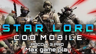CALL OF DUTY MOBILE | 🔥🔥🔥 Aggressive Game play 🔥🔥🔥| STARLORD GAMING