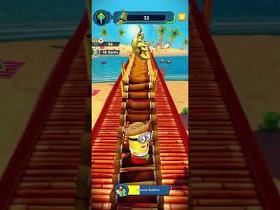 Minion rush infinity runner game play android and ios game